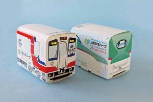 三陸ジオパークお菓子列車(車両BOX画像)
